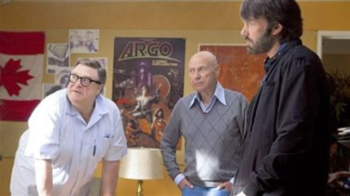"""Argo"" cast John Goodman, left, is a Hollywood makeup wizard and Alan Arkin is a movie producer who assist Ben Affleck's CIA exfiltration expert in getting Americans out of Tehran in 1979."