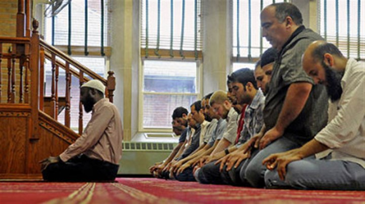 asr at Islamic Center of Pittsburgh An afternoon prayer is led by Imam Abdusemih Tadese, left, at the Islamic Center of Pittsburgh in Oakland on July 18 ahead of Ramadan, which began Friday.