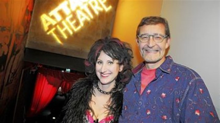 Attack Theatre's Dirty Ball Dirty Ball chairs Cari Marty and Don Iddings.