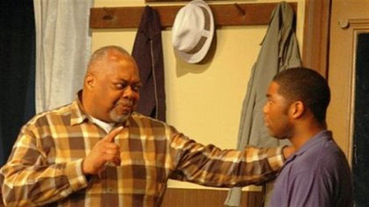 "August Wilson's ""Jitney"" Sala Udin, left, and Joshua Elijah Reese star in August Wilson's ""Jitney"" at Pittsburgh Playwrights Theatre."