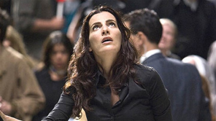 "Ayelet Zurer Ayelet Zurer portrays an Italian scientist in ""Angels & Demons."""