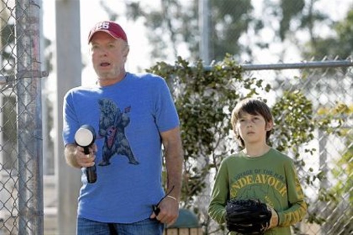"'Back in the Game' James Caan portrays Terry ""The Cannon"" Gannon Griffin Gluck is Danny in ""Back in the Game."""