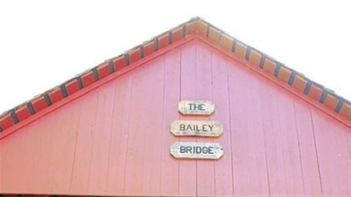 Bailey Covered Bridge Bailey Covered Bridge in Amwell, Washington County, last fall. This bridge crosses the north fork of Ten Mile Creek and is west of Interstate 79.