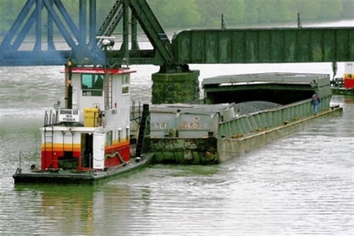 barge industry President Barack Obama's budget plan calls for imposing annual per-vessel fees on the barge industry to pay for an $8 billion backlog in delayed and over-budget projects, including replacing aging locks and dams on the Monongahela River.