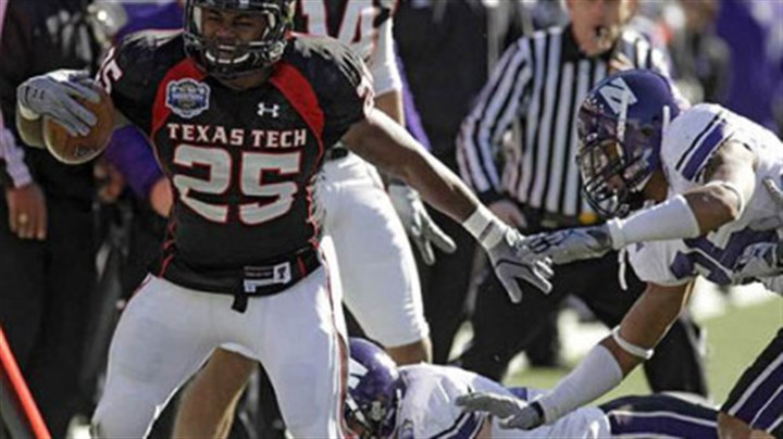 Baron Batch The Steelers drafted Texas Tech running back Baron Batch in the seventh round.