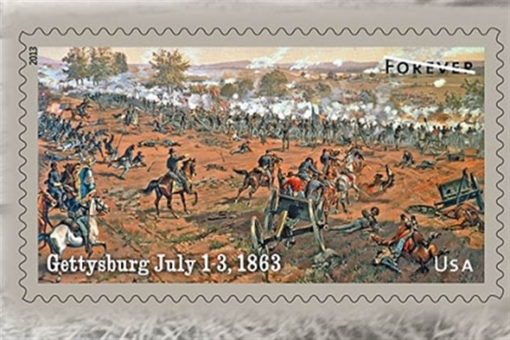 Battle of Vicksburg The Postal Service's Battle of Vicksburg Forever stamp