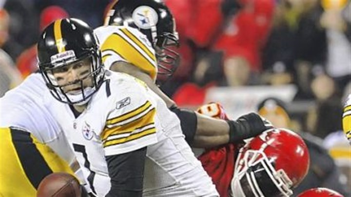 Ben Roethlisberger Ben Roethlisberger has been sacked 308 times in 111 games an average of 2.8 per game.