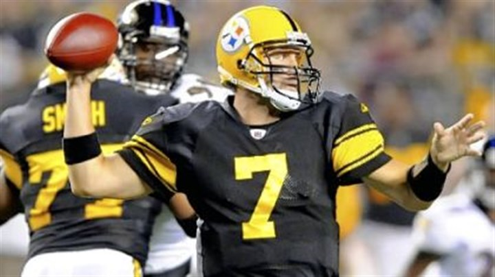 Ben Roethlisberger Ben Roethlisberger: No 200-yard games yet? Just you watch Sunday night in Jacksonville.