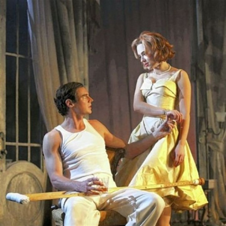 "Benjamin Walker and Scarlett Johansson Benjamin Walker and Scarlett Johansson are Brick and Maggie in ""Cat on a Hot Tin Roof"" at the Richard Rodgers Theatre in New York."
