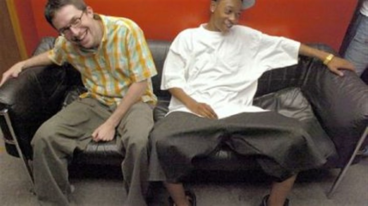 Benjy Grinberg, left, and Wiz Khalifa Benjy Grinberg, left, and Wiz Khalifa, pictured in 2005, were not afraid to take the long road to stardom.