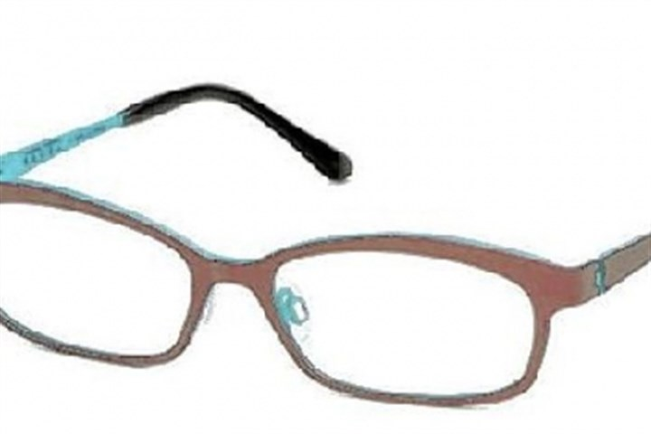 Bevel eyewear Oh Pee style in Aubergine Melody by Bevel.