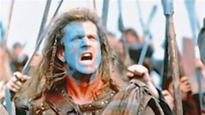 "bh It's like William Wallace said before going to battle in ""Braveheart"": ""I'm going to pick a fight."""