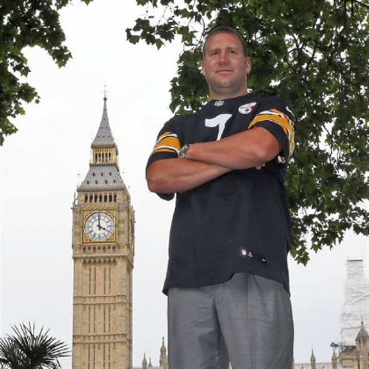 Big Bens Big Ben couldn't go to London and not do the obligatory pose in front of his namesake, could he?