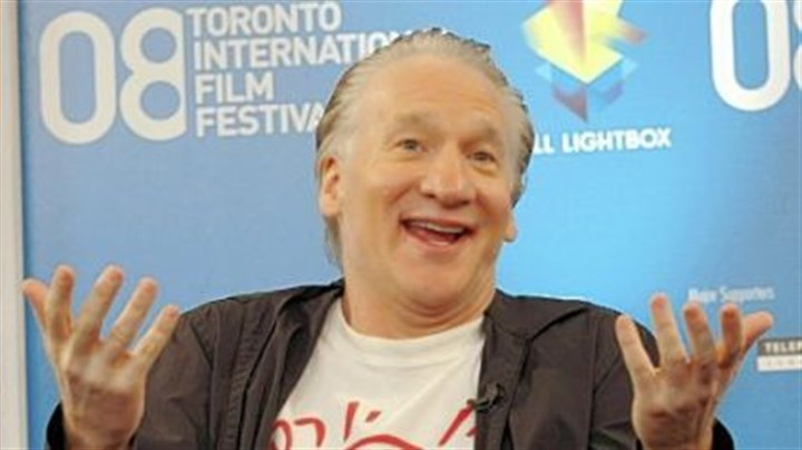 "Bill Maher Television personality Bill Maher discusses ""Religulous"" during the Toronto International Film Festival."