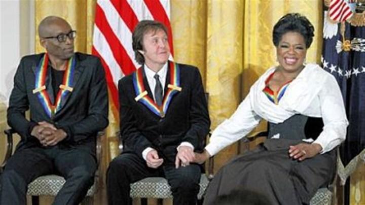 President Obama Honors Paul Mccartney >> Paul McCartney and Oprah among Kennedy Center honorees   Pittsburgh Post-Gazette
