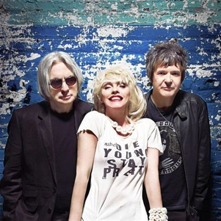 Blondie Blondie -- Chris Stein, left, Debbie Harry and Clem Burke.
