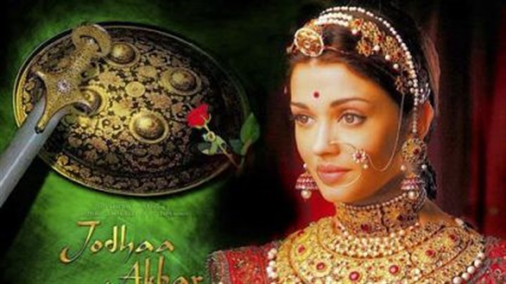 "Bollywood Poster for the film ""Jodha Akbar."""