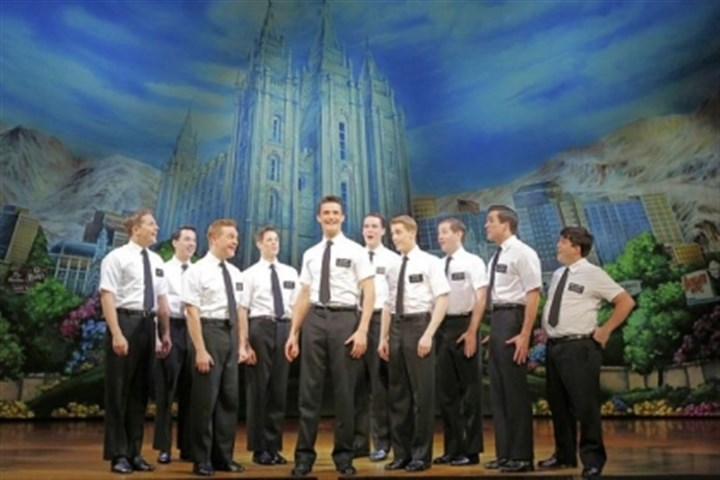 "'Book of Mormon' touring company The National Touring Company of ""The Book of Mormon."""