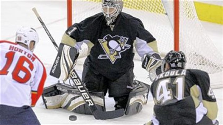 Brent Johnson The Penguins are expected to start Brent Johnson in goal tonight at Columbus.