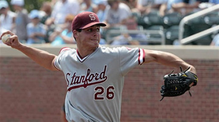 Bucsdraft The Pirates quickly snatched up Stanford pitcher Mark Appel after he fell to them at No. 8 in the baseball draft.