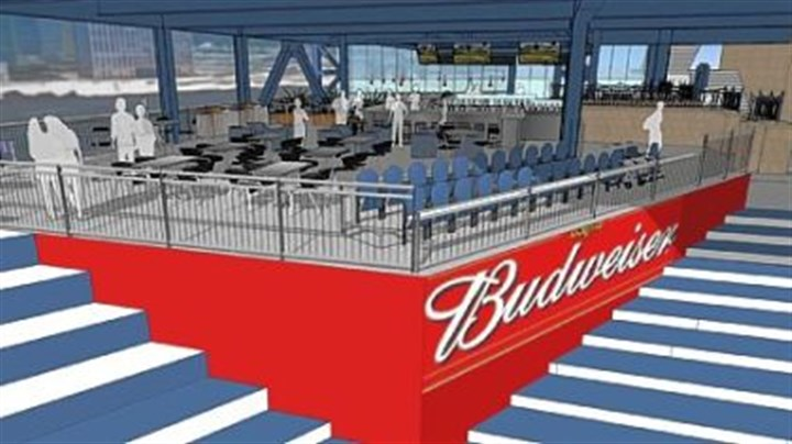 Budweiser Bowtie Bar Budweiser Bowtie Bar at PNC Park will be open for business on opening day in April.