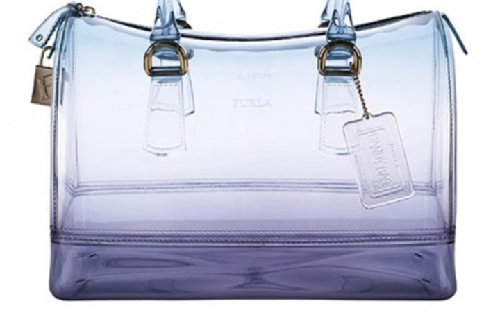 Candy Sunset bauletto Candy Sunset bauletto in turquoise from Furla USA.
