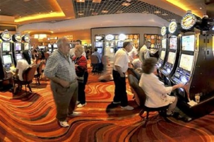 casino The slots-gambling era opened on Aug. 9, 2009 in Pittsburgh when hundreds of people swarmed into the Rivers Casino.