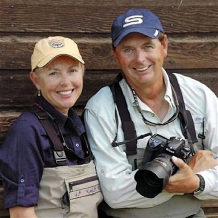 "Cathy and Barry Beck Cathy and Barry Beck's travels once prompted Outdoor Life magazine to dub them ""the first couple of fly-fishing."" The two are on the road 45 weeks of the year."