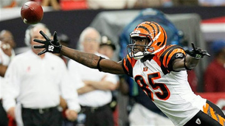 Chad Ochocinco Bengals wide receiver Chad Ochocinco has 39 catches for 458 yards this season.