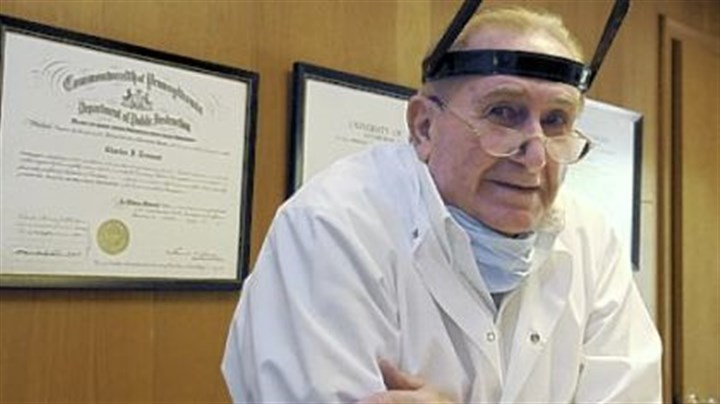 Charles Tremont Dentist Charles Tremont, 87, sees patients four days a week.