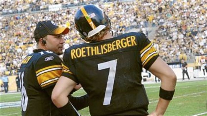 Charlie Batch Charlie Batch, left, has worn many hats since joining the Steelers