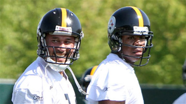 Charlie Batch and Byron Leftwich Steelers quarterbacks Charlie Batch, left, and Byron Leftwich.