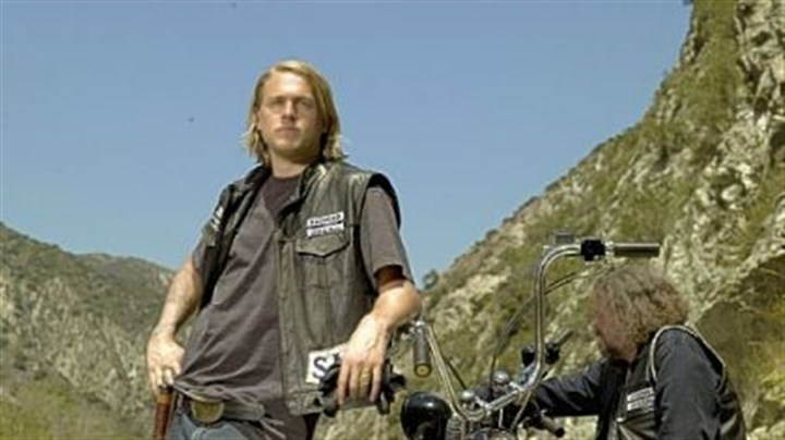 "Charlie Hunnam Charlie Hunnam in ""Sons of Anarchy."""