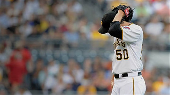 Charlie Morton The Pirates' Charlie Morton pitched two innings Monday and allowed seven runs on eight hits against the Orioles.
