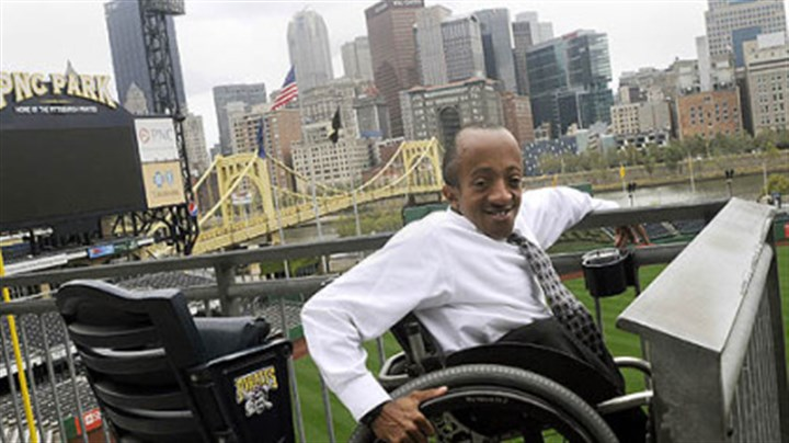 Chaz Kellem Chaz Kellem, the manager of diversity initiatives for the Pittsburgh Pirates, uses a wheelchair, but PNC Park was designed to be wheelchair accessible.