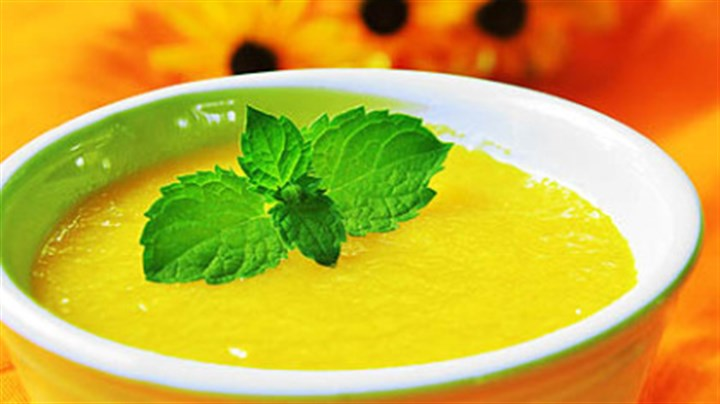 Chilled Peach Soup Chilled Peach Soup