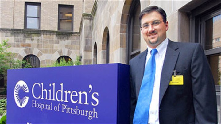 Christopher Gessner UPMC Children's Hospital's new president, Christopher Gessner.