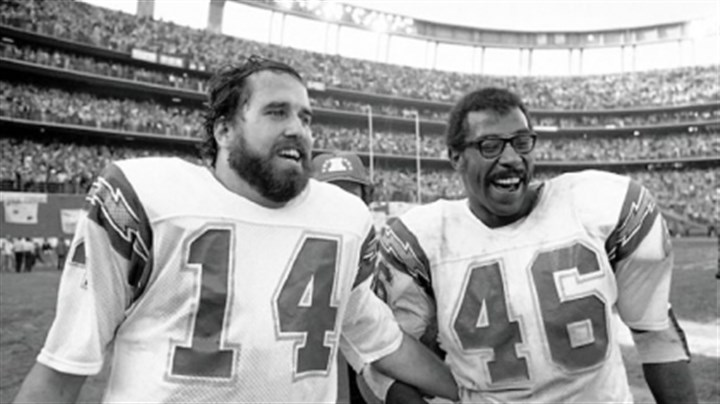 Chuck Muncie leaves field Chuck Muncie, at right — Uniontown native was an NFL running back.