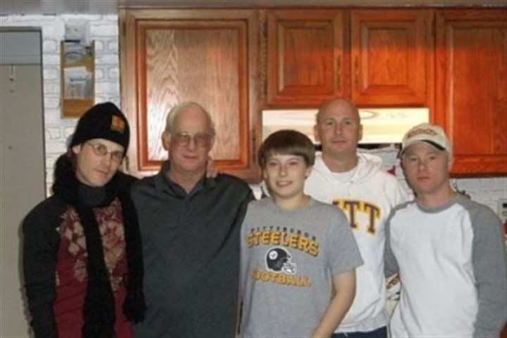 Clark Compston Clark Compston, 74, died at the Pittsburgh VA's University Drive hospital Nov. 14, 2011, after contracting Legionnaires' disease. Mr. Compston, second from left, is seen here with three of his sons and his grandson.
