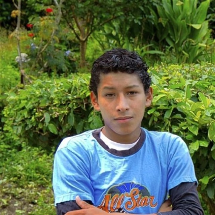Coffee 3 Jose Daniel, pictured here in ninth grade, will graduate in December from agricultural school in Suyapita, El Merendon, Honduras. His education has been supported by coffee sales conducted by the Neil Armstrong Middle School Student Council in Bethel Park.