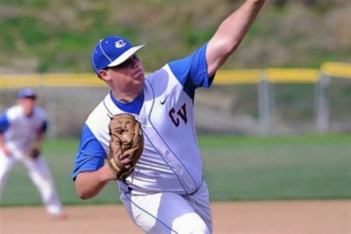 Colts Baseball Senior left-hander Matt Mulvihill is the ace of Chartiers Valley's pitching staff as well as a key batter in the No. 3 spot in the lineup.