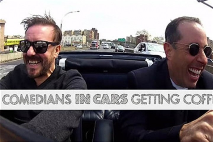 "Comedians in Cars Getting Coffee Jerry Seinfeld's Web series ""Comedians in Cars Getting Coffee"" is a contender."