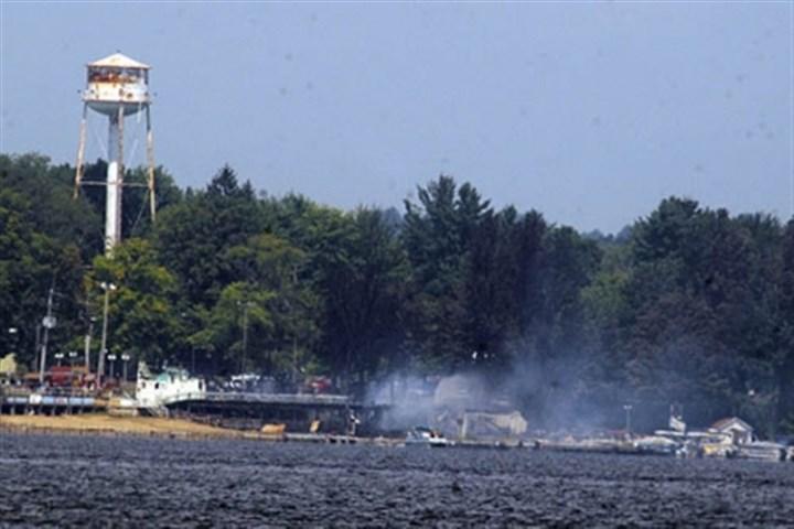 Conneaut Lake Park Fire To Hurt Community Financially Pittsburgh Post Gazette