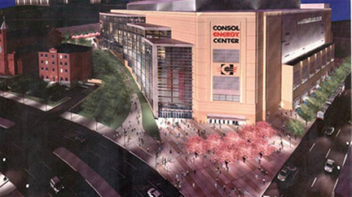 Consol Energy Center An artist's rendering of the new Consol Energy Center.