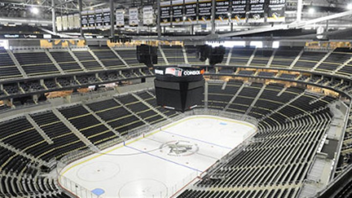 Consol Energy Center The Penguins will play their first game in Consol Energy Center tonight against the Red Wings.