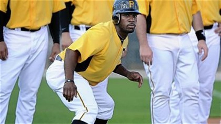 Cory Wimberly Cory Wimberly breaks for home in drills Monday in Bradenton, Fla.