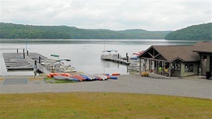 Crescent Bay Marine Prices start at $45 per hour for a pontoon at Crescent Bay Marine in Moraine State Park, which also rents sailboats, fishing boats and runabouts.