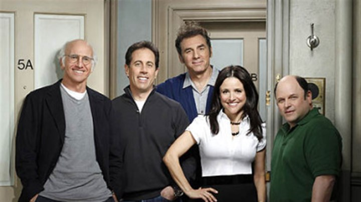 """Curb Your Enthusiasm"" Larry David, Jerry Seinfeld, Michael Richards, Julia Louis-Dreyfus, Jason Alexander will be on ""Curb Your Enthusiasm"" on Oct. 4."