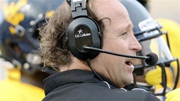 Dana Holgorsen Dana Holgorsen got the victory against Marshall Sunday in his debut at West Virginia. But the coach showed some frustration in the second half.