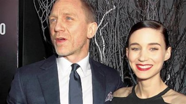 "Daniel Craig and Rooney Mara Daniel Craig and Rooney Mara attend the New York premiere of ""The Girl With the Dragon Tattoo."""